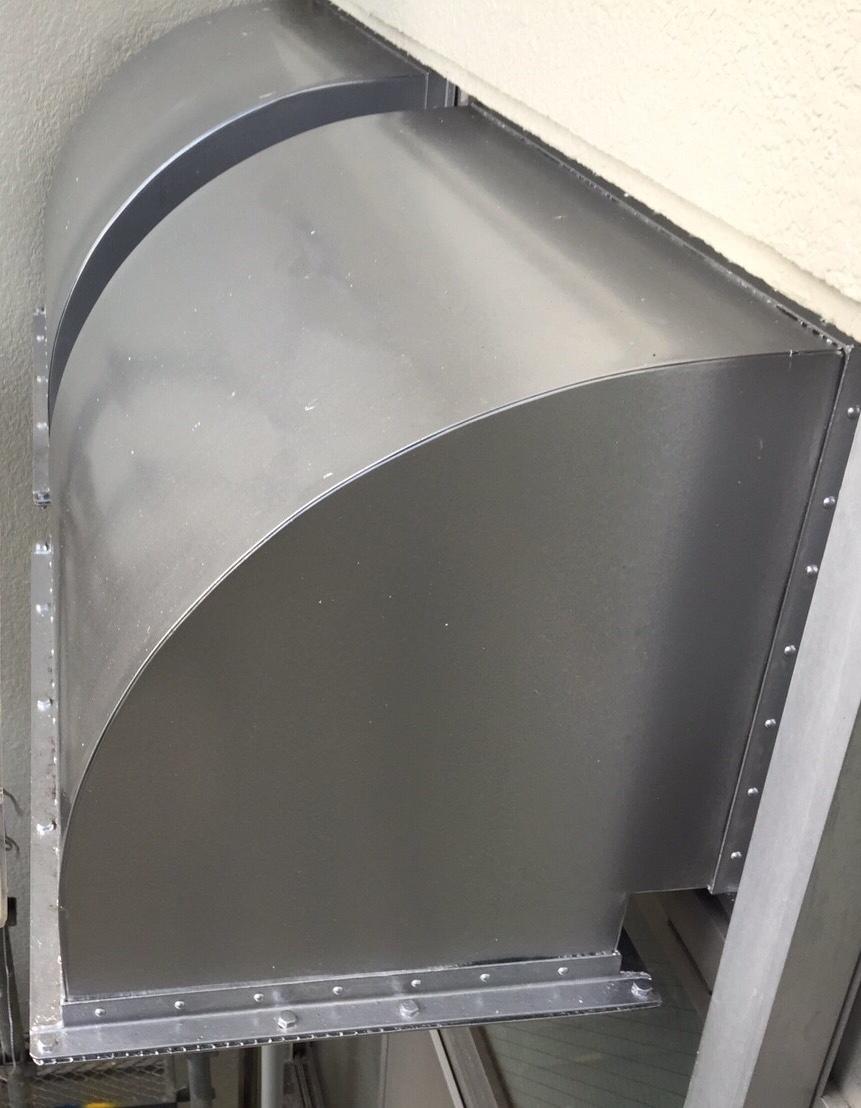 外壁 塗装 換気扇
